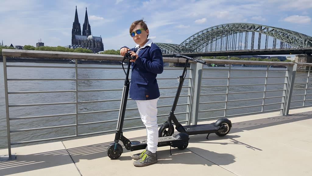 Egret e-Scooter in Köln